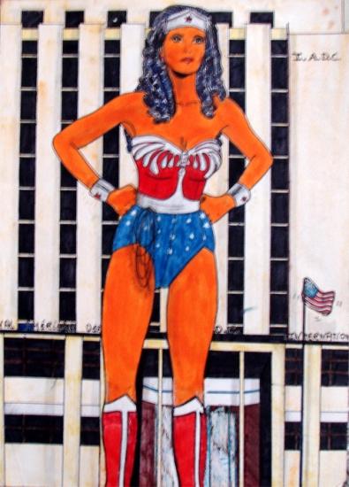 Wonder Woman by wisewyn